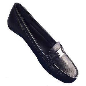 LAUREN BY RALPH LAUREN Black Careigh Loafers - 10